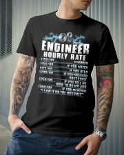 Engineer Hourly Rate Classic T-Shirt lifestyle-mens-crewneck-front-6