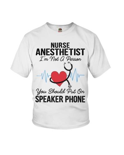 Nurse Anesthetist Not A Person Speaker Phone