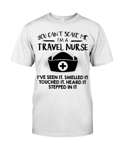 Travel Nurse You Can't Scare Me