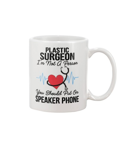Plastic Surgeon Not A Person Speaker Phone