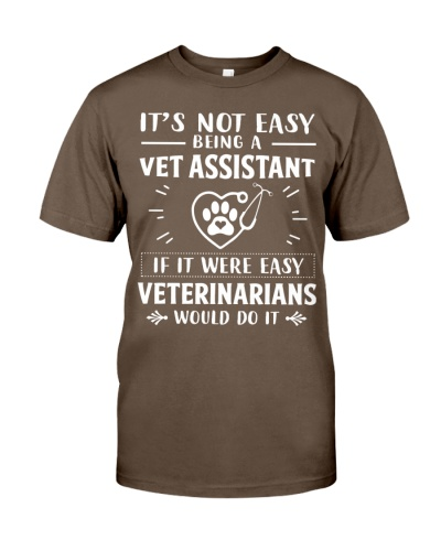 It's Not Easy Being A Vet Assistant