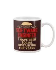 Software Engineer Social Distancing Mug thumbnail