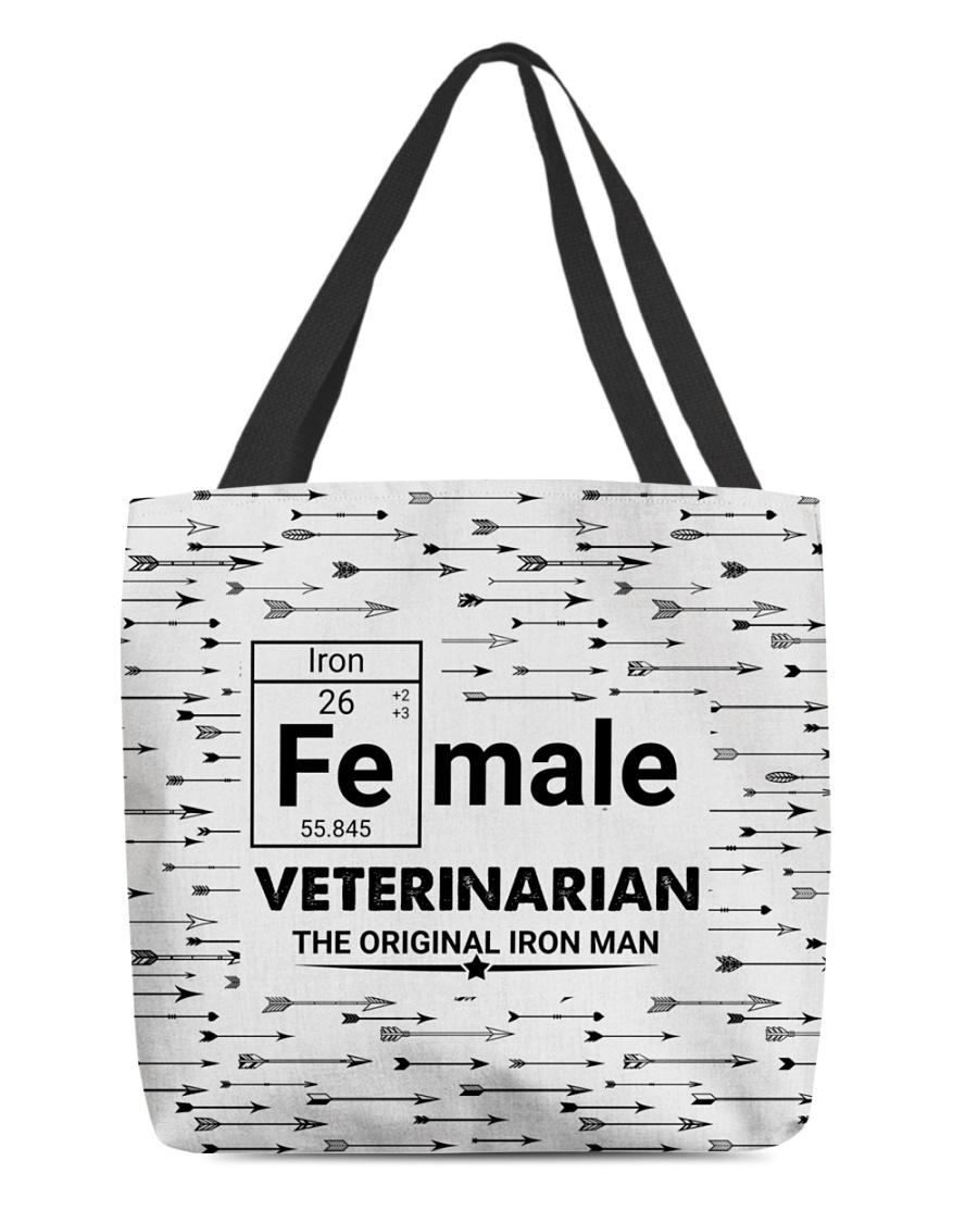 Female Veterinarian Arrow All-over Tote