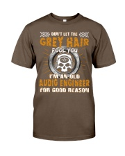 Dont Let Grey Hair Fool You Audio Engineer Classic T-Shirt thumbnail