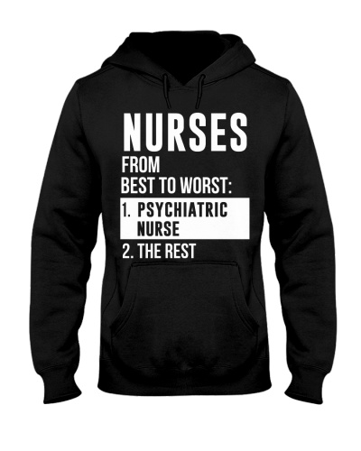 Nurses From Best To Worst Psychiatric Nurse