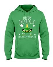 Unicorn Oncologist Like A Regular Doctor Hooded Sweatshirt front