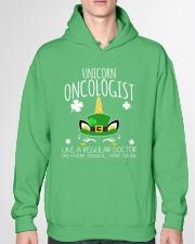 Unicorn Oncologist Like A Regular Doctor Hooded Sweatshirt garment-hooded-sweatshirt-front-04