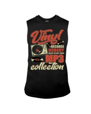 Vinyl Because Nobody Asks MP3 Collection Sleeveless Tee thumbnail