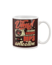 Vinyl Because Nobody Asks MP3 Collection Mug tile