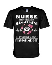 Nurse I Don't Need Anger Management V-Neck T-Shirt thumbnail