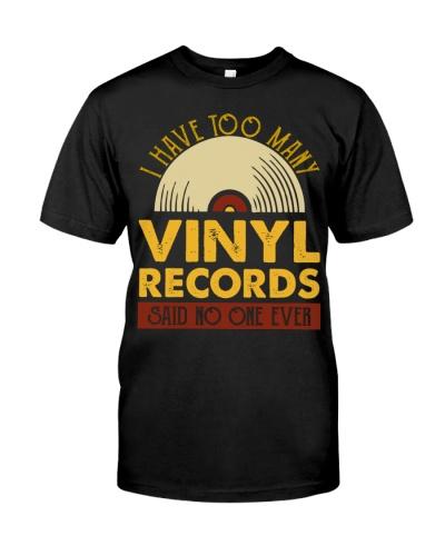 I Have Too Many Vinyl Records