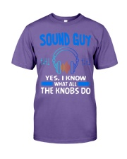 Sound Guy Yes I Know What All The Knobs Do Premium Fit Mens Tee thumbnail