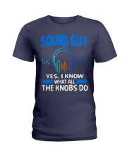 Sound Guy Yes I Know What All The Knobs Do Ladies T-Shirt thumbnail