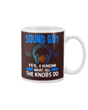 Sound Guy Yes I Know What All The Knobs Do Mug thumbnail