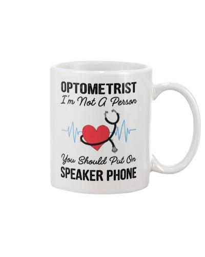 Optometrist Not A Person Speaker Phone
