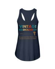 Vintage Radiologist Knows More Than She Says Ladies Flowy Tank thumbnail