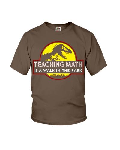 Teaching Math Is A Walk In The Park