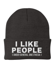 I Like People Anesthesia Knit Beanie thumbnail