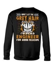 Dont Let Grey Hair Fool You Engineer Crewneck Sweatshirt thumbnail