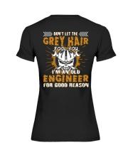 Dont Let Grey Hair Fool You Engineer Premium Fit Ladies Tee thumbnail