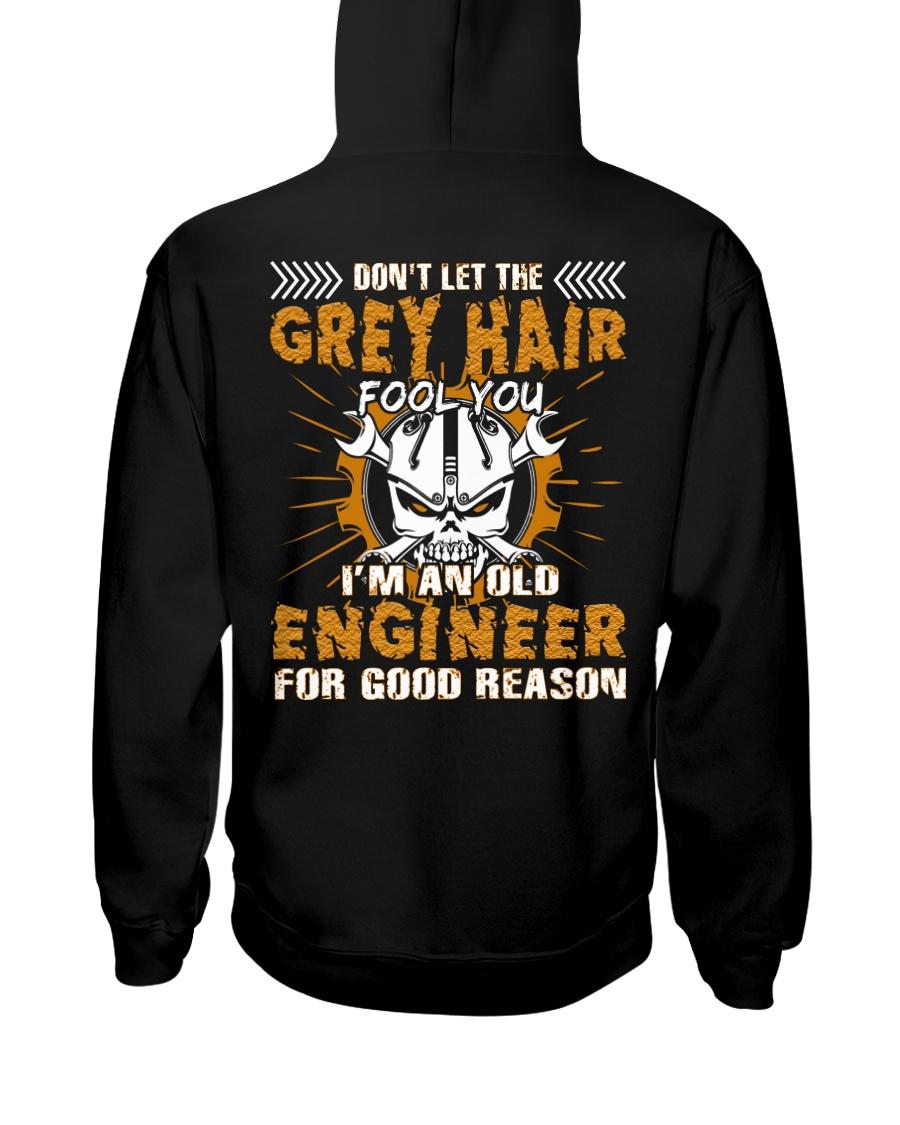 Dont Let Grey Hair Fool You Engineer Hooded Sweatshirt