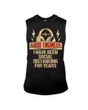 Audio Engineer I Have Been Social Distancing Sleeveless Tee thumbnail
