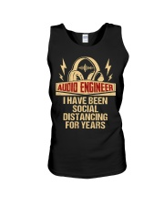 Audio Engineer I Have Been Social Distancing Unisex Tank thumbnail
