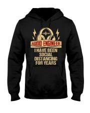 Audio Engineer I Have Been Social Distancing Hooded Sweatshirt thumbnail