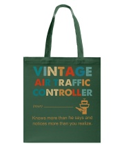 Vintage Air Traffic Controller Knows More Than He Tote Bag thumbnail