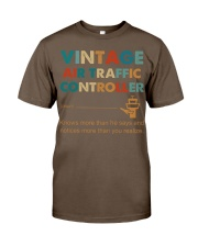 Vintage Air Traffic Controller Knows More Than He Classic T-Shirt thumbnail