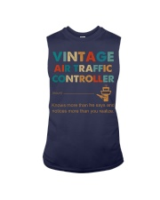 Vintage Air Traffic Controller Knows More Than He Sleeveless Tee thumbnail