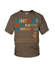 Vintage Air Traffic Controller Knows More Than He Youth T-Shirt thumbnail