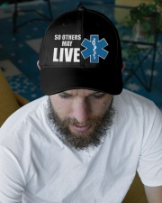So Others May Live1 Embroidered Hat garment-embroidery-hat-lifestyle-06