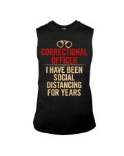 Correctional Officer Social Distancing Sleeveless Tee thumbnail