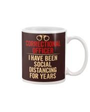 Correctional Officer Social Distancing Mug thumbnail