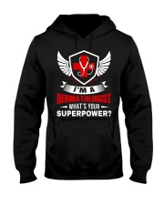 What's Your Superpower Dermatologist Hooded Sweatshirt front
