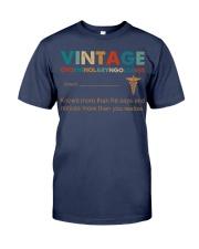 Vintage Otorhinolaryngologist Knows More Than He Premium Fit Mens Tee thumbnail