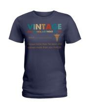 Vintage Otorhinolaryngologist Knows More Than He Ladies T-Shirt thumbnail