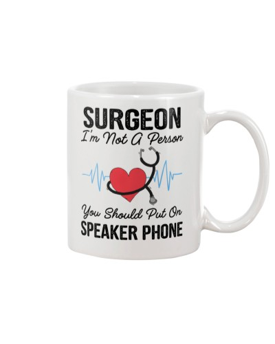 Surgeon Not A Person Speaker Phone