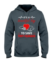It's A Beautyful Day To Save Tiny Humans Hooded Sweatshirt thumbnail