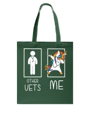 Other Vets Me Dabbing Tote Bag thumbnail