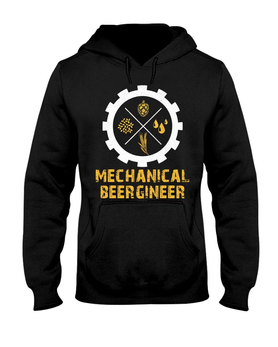 Mechanical Beergineer Hooded Sweatshirt