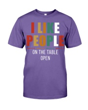 I Like People Premium Fit Mens Tee thumbnail
