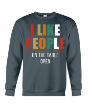 I Like People Crewneck Sweatshirt thumbnail