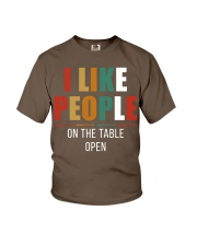 I Like People Youth T-Shirt thumbnail
