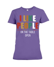 I Like People Premium Fit Ladies Tee thumbnail