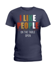 I Like People Ladies T-Shirt thumbnail