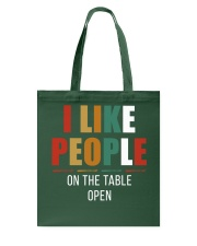 I Like People Tote Bag thumbnail
