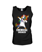 Chemical Engineer Unicorn Dabbing Unisex Tank thumbnail
