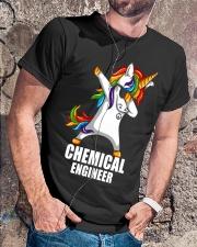 Chemical Engineer Unicorn Dabbing Classic T-Shirt lifestyle-mens-crewneck-front-4